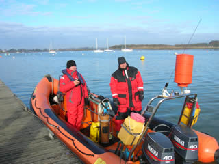 Boat Handling Course Selsey Diver